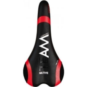Native Team Saddle blk/red