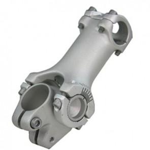 """Ergotec Vorbau SWELL ECO 80 mm 1 1/8"""" für 254 mm Lenker verstellbar von -2"""