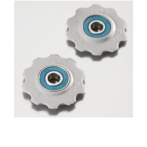 Tacx Schaltungsrädchen Shim. 7/8s und Campa 8/9/10-  10 Z. Keramiklager