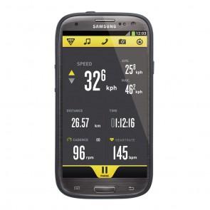 Topeak RideCase für Samsung Galaxy S3 mit Halter black  -  Material:Zweifa