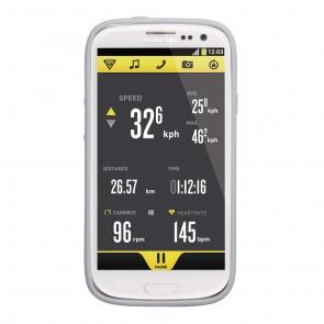 Topeak RideCase für Samsung Galaxy S3 mit Halter white  -  Material:Zweifa