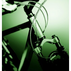 NOKON Bremsaußenhülle MTB/Trekking silber 110cm für V-Brake KON5014