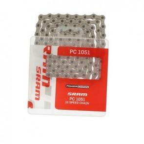 SRAM, Kette, PC 1051, 10-fach, 114 Glieder, inkl. Verschlussglied