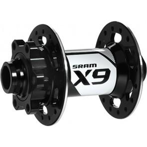SRAM Nabe Disc X.9 vorn 32L 20mm schwarz 6-Loch