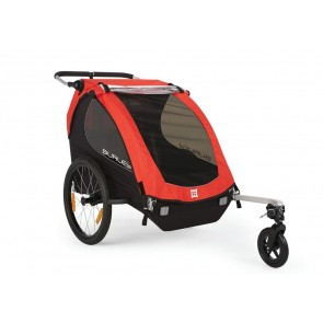 Burley Fahrrad Kinder Honey Bee Modell 2016 rot mit Stroller