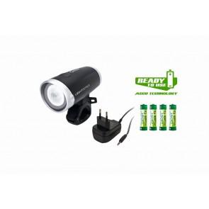 Sigma Sport Beleuchtung Lichtset vorne LIGHTSTER LED bis 20 LUX Batterieind