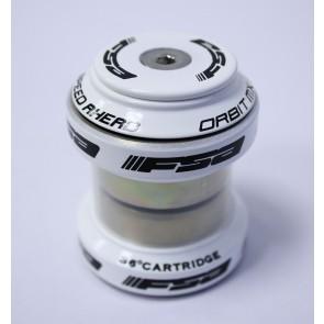 "FSA Steuersatz ORBIT MX 1 1/8"" weiß 2 x Cartridge Lager inkl. Deckel + K"