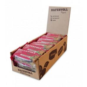 Hafervoll Müsliriegel Flapjacks Hanf-Sauerkirsche  18-Stück im Karton je