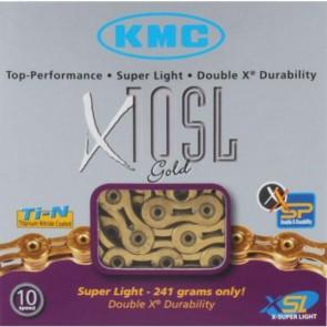KMC Fahrradkette X-10-SL Gold 10-fach