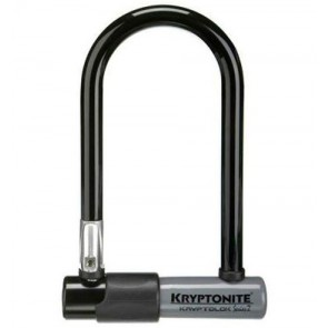 Kryptonite KryptoLok 2 Mini-7 schwarz w/Flex