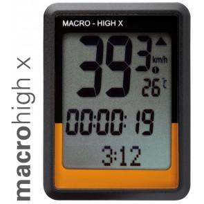 O-Synce Fahrrad-Computer Macro High X Rc