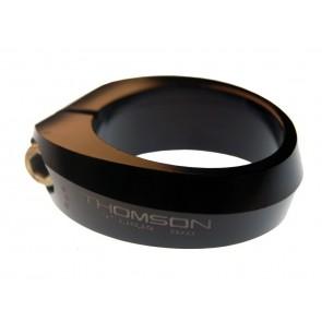 Sattelklemmring Thomson Alu, 28,6mm, schwarz