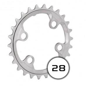 Shimano Kettenblatt 28-4 XTR FC-M9000 (28 Z. AW ) (4-Arm) (2x10-fach)