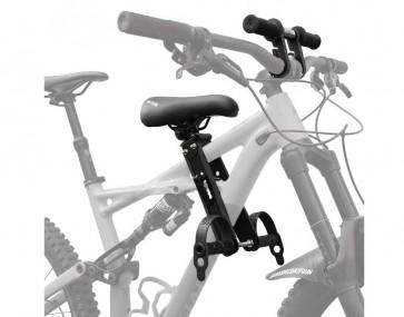 Kids Ride Shotgun MTB Kindersitz für das Oberrohr mit Zusatzlenker schwarz