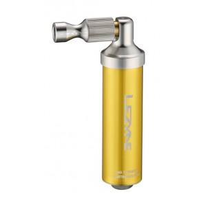 Lezyne CO2 Pumpe Alloy Drive CNCgold-glänzend16g