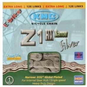 KMC Fahrradkette Z1HX (frühere Z-610 HX) Narrow Singlespeed/Fixie