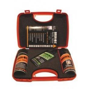 BRUNOX Geschenkbox bestückt mit je 1x TopKett Tropffla./TurboSpray/Federg.