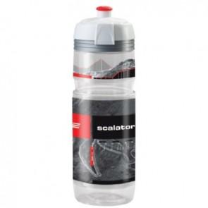 ELITE Trinkflasche SUPERCORSA MTB SCALATORE CLEAR 750ml mit Schutzkappe