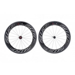 H-Rad Zipp 808 Firecrest Tubular 700C Carbon schwarz/Dekor schwarz/Sram