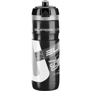 ELITE Trinkflasche SUPER CORSA BLACK Logo silber 750ml