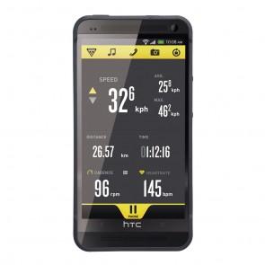 Topeak RideCase für HTC One mit Halter black  -  Material:Zweifarbige Kuns