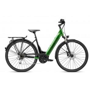 Breezer POWERTRIP EVO 2.3+ LS E-bike Schwarz/ Forest Grün