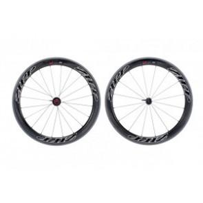 H-Rad Zipp 404 Firecrest Tubular 700C Carbon schwarz/Dekor schwarz/Campa