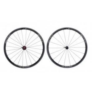 H-Rad Zipp 202 Tubular 700C Carbon schwarz/Dekor schwarz/Campa