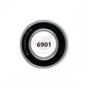 WHEELS Ind.-Kugellager 6901 2RS (Paar) 12x24x6mm für Laufräder Mavic FSA