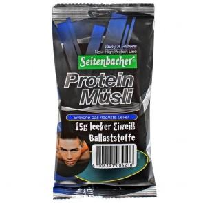 Seitenbacher Müsli Protein Müsli Portionsbeutel 50g jeder Beutel hat 15g