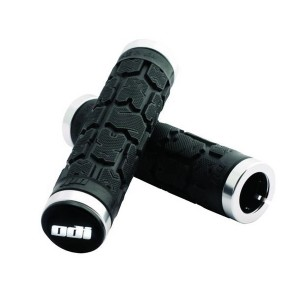ODI Rogue Griffe lang 130mm 2stk schwarz schwarze Klemmringe