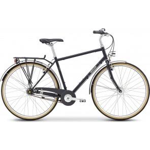 Fahrrad Breezer DOWNTOWN 8+ Satin Black