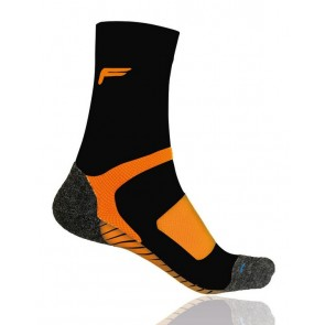 F-Lite Socken All Season Trekking A 100 Farbe: black/orange Größe: 39-42