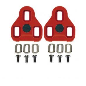 Exustar KEO-Schuhplatten Set E-ARC10 rot