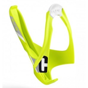 ELITE Flaschenhalter CANNIBAL neon-gelb schwarze Grafik besonders geeignet