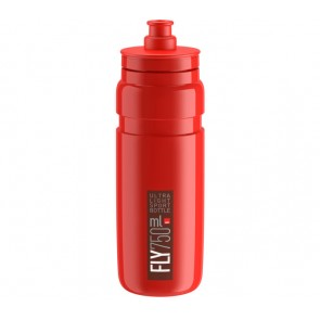 ELITE Trinkflasche FLY rot bordeauxrotes Logo 750ml Durchmesser: 74mm