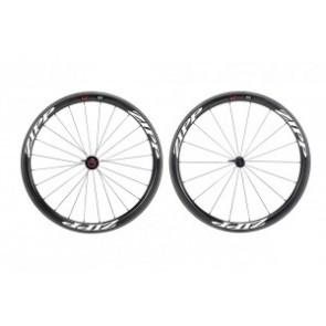 H-Rad Zipp 303 Firecrest Tubular 700C Carbon schwarz/Dekor schwarz/Campa