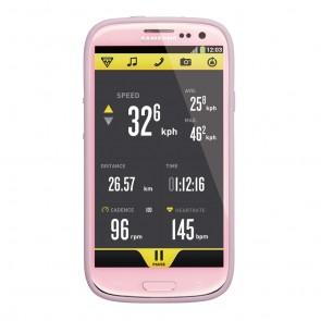Topeak RideCase für Samsung Galaxy S3 mit Halter pink  -  Material:Zweifar
