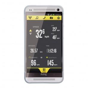 Topeak RideCase für HTC One mit Halter white  -  Material:Zweifarbige Kuns
