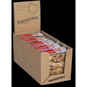 Hafervoll Müsliriegel Flapjacks Cashew-Cranberry 20-stück im Karton je Ri