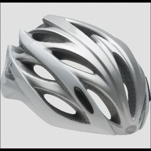 Bell OVERDRIVE 2015 Weiß/Silber