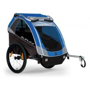 Fahrrad-Kinder-Anhänger Burley D`Lite Modell 2016 blau