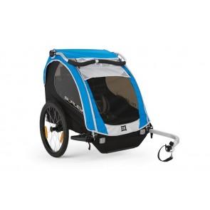 Fahrrad-Kinder-Anhänger Burley Encore Modell 2016 blau