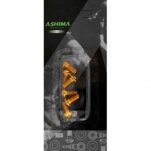 Ashima Bremsscheibe Befestigungsschrauben Alu 7075 Torx T20 M5x105 gold 6 S