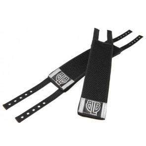 BLB Pair of Lockdown straps Pedalriemen fixie schwarz