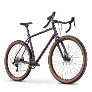 Breezer RADAR X PRO Adventure Bike Lila